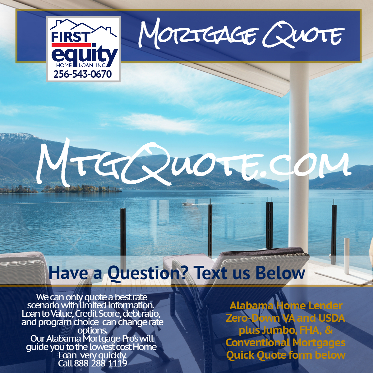 Mortgage Quote Impressive Mtgquote Mortgage Quotealabama Zero Down Va And Usda Plus