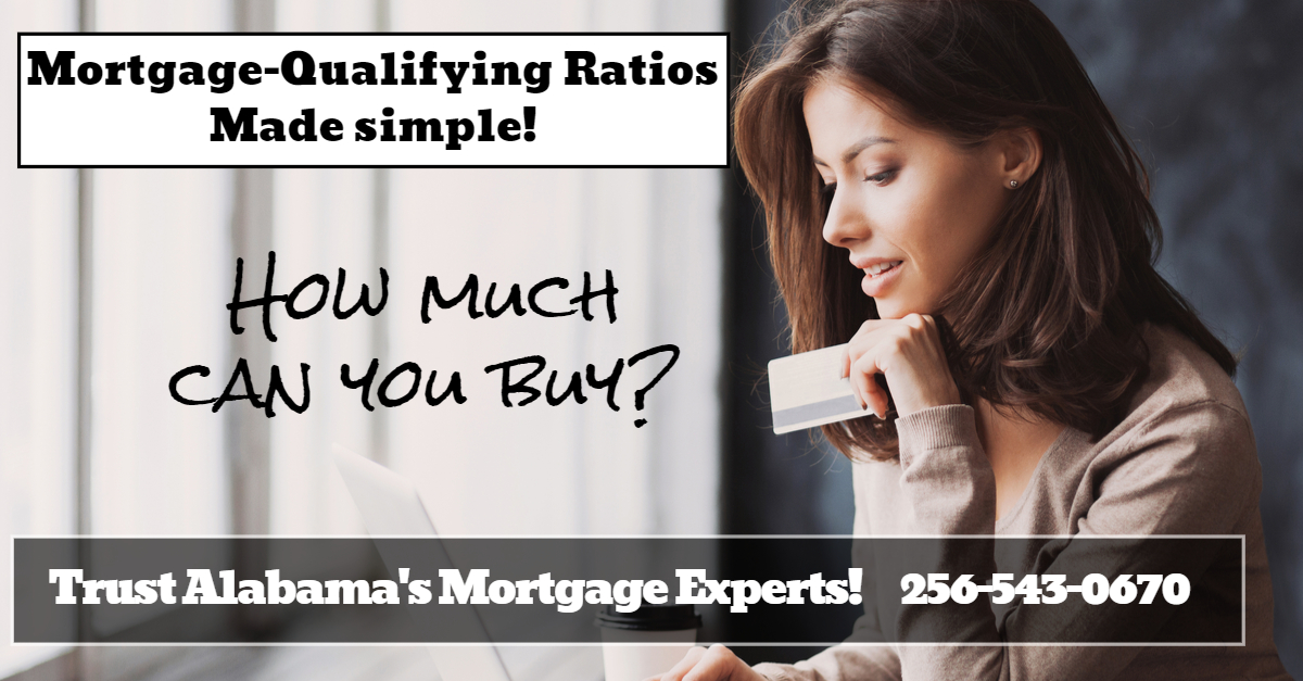 Mortgage Qualifying Debt Ratios-front and back ratio guidelines